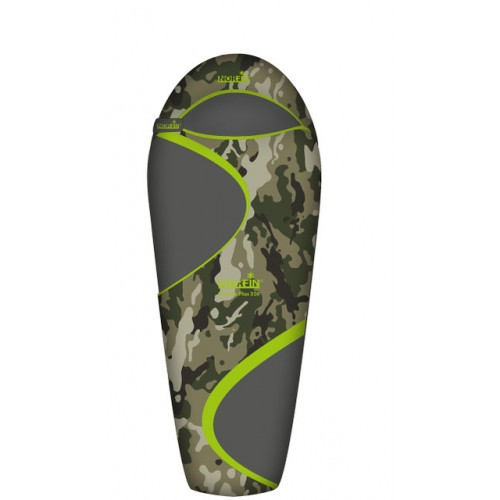 Спальный мешок NORFIN SCANDIC PLUS 350 CAMO молния Слева