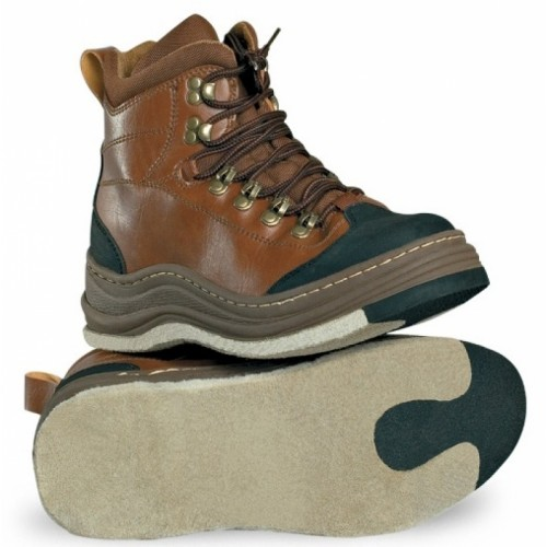 Ботинки для вейдерсов RAPALA WADING BROWN