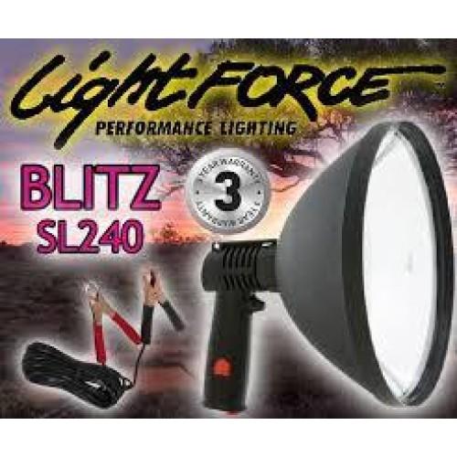 Фонарь-прожектор LIGHT FORCE BLITZ-SL-240