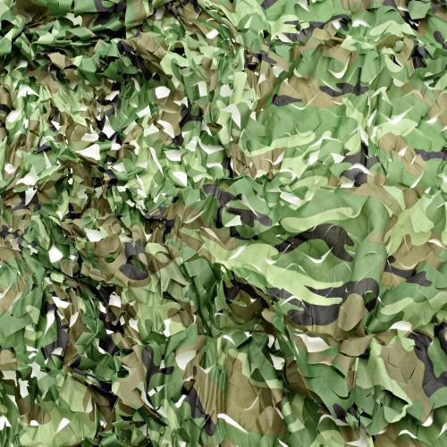 Маскировочная сетка 3х2,4м цвет Лес