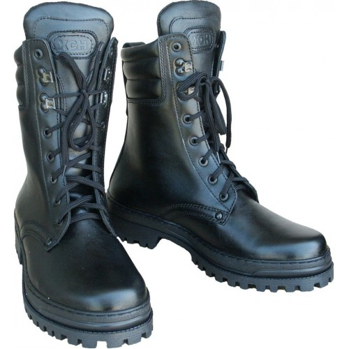Ботинки зимние ХСН Охрана ELITE (кожа) (натур. мех)
