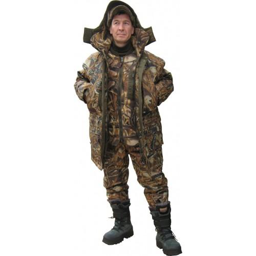 Зимний костюм-тройка ХСН Рыбак (камыш)