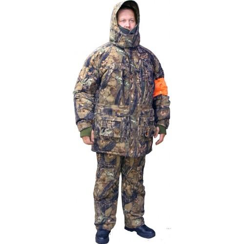Зимний костюм-тройка ХСН Охотник (лес)