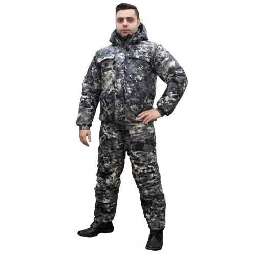 "Костюм зимний NOVATEX \""ВЕПРЬ\"" (тк.алова)(сер.цифра)"