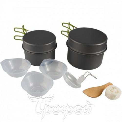 Набор посуды анодированный алюминий CAMPSOR-30