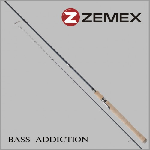 Спиннинг ZEMEX BASS ADDICTION  1,98 м. 4,0-14,0 гр
