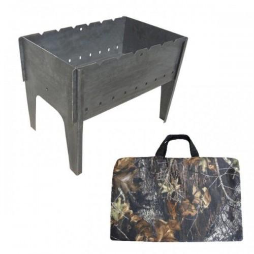 Мангал (Тонар) разборный, сумка 2мм
