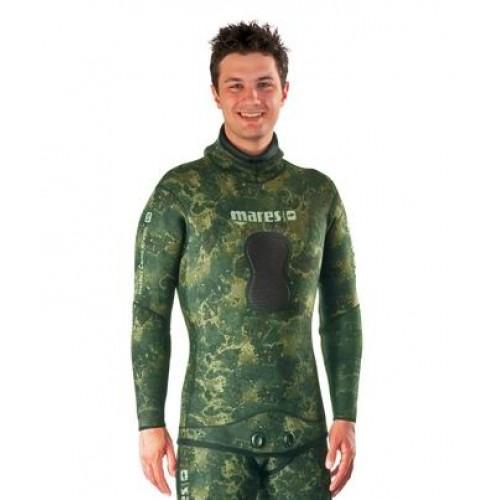 Куртка от гидрокостюма MARES PF INSTINCT CAMO GREEN 70