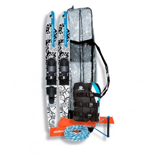 Водные лыжи (детск.) JOBE DEVOCEAN GLOBE JUNIOR PACKAG 150см