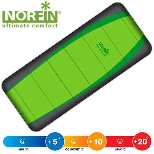 Спальный мешок NORFIN LIGHT COMFORT 200 FISHING