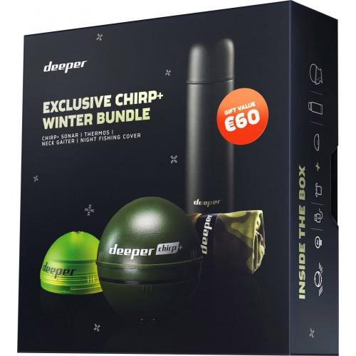 Беспроводной эхолот DEEPER CHIRP+ WINTER BUNDLE 2019 x