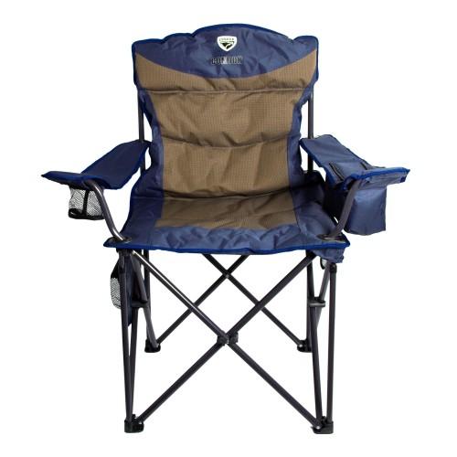 Кресло складное с изотермическим карманом р.60*60*53 см, цвет синий